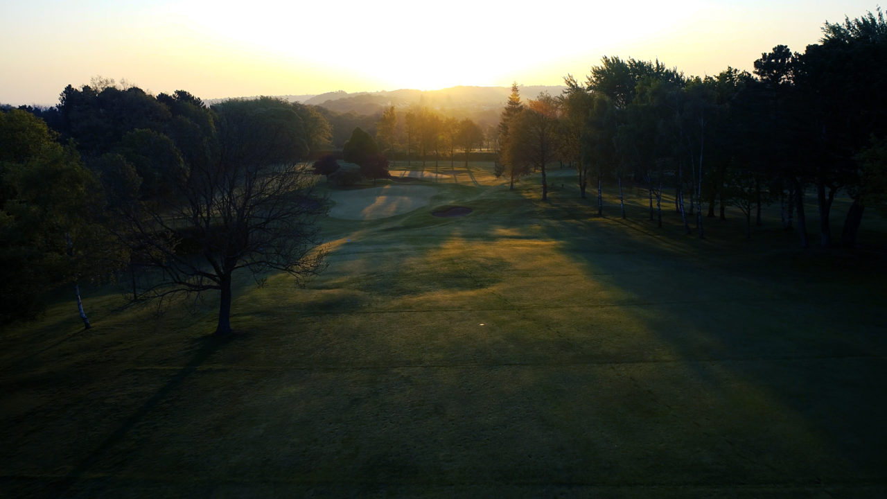 Abbeydale Golf Club by drone